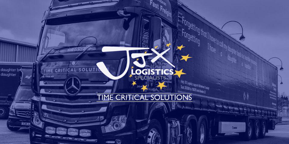 JJX Logistics Website Design Wolverhampton