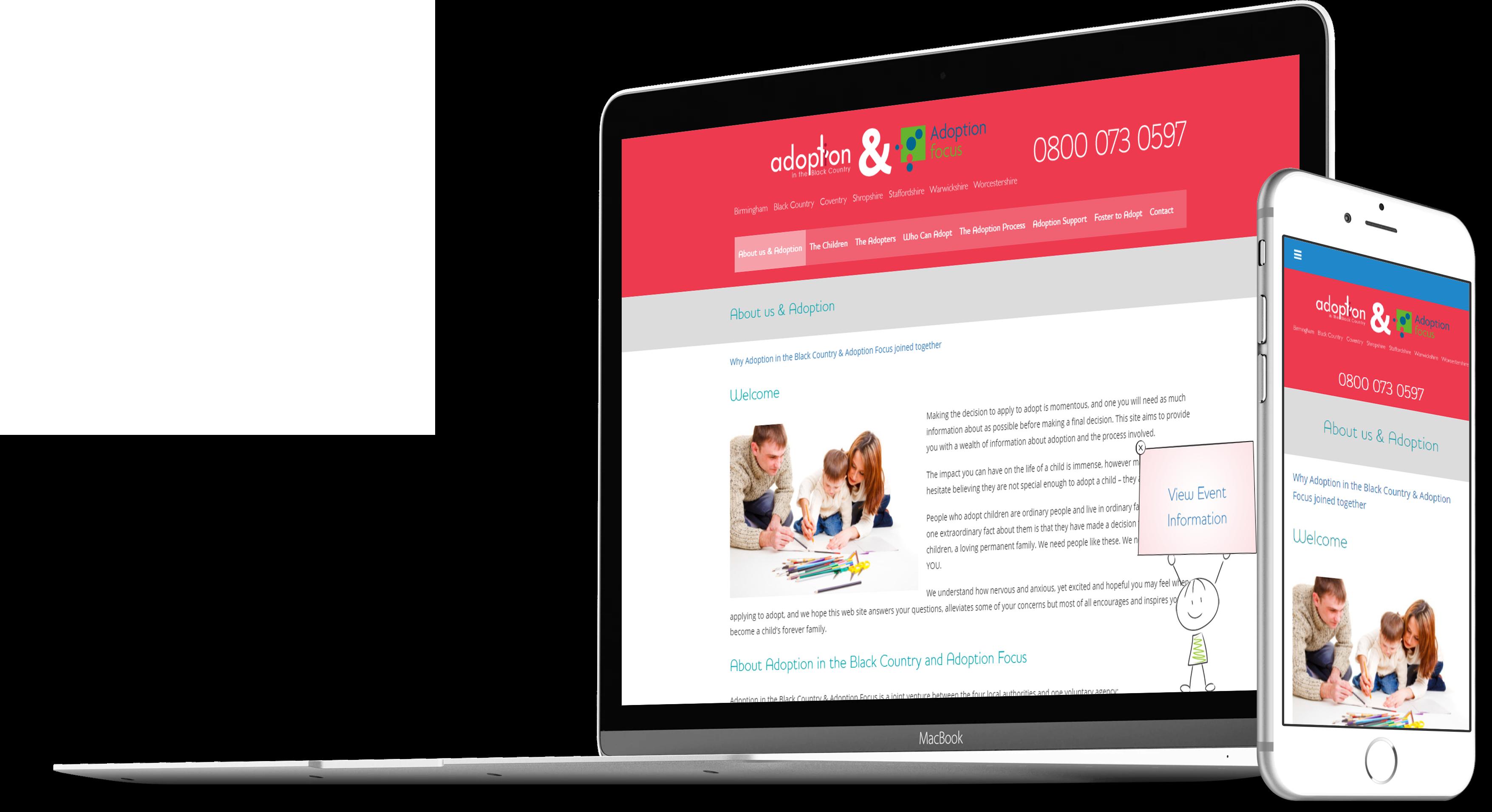 ABC Responsive Website Design Wolverhampton