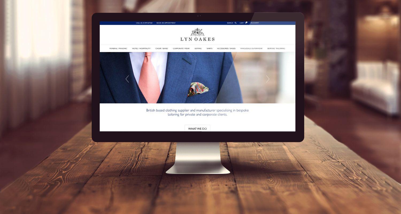 Lyn Oakes Website Design