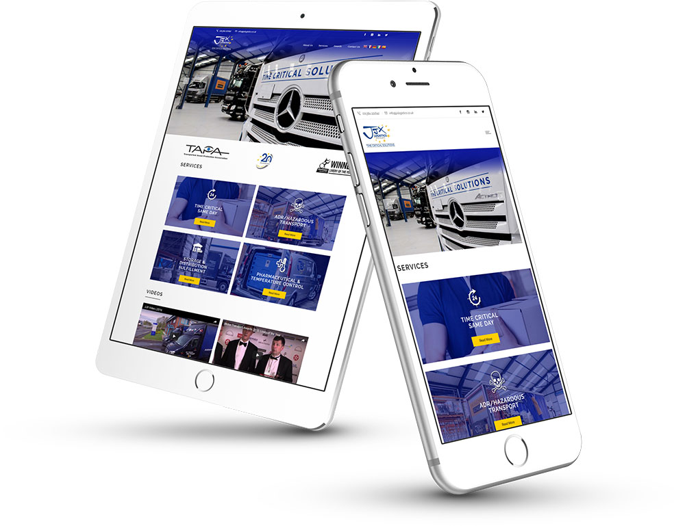 Professional Responsive Website